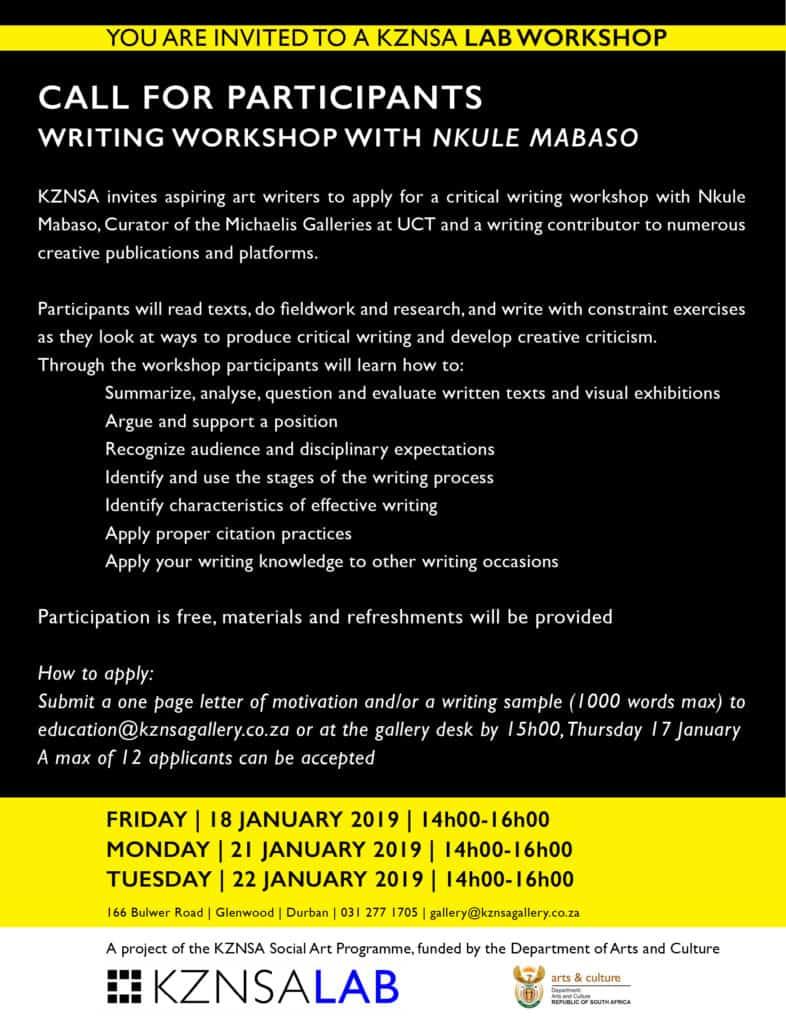 LAB WORKSHOP INVITE_01_Writing