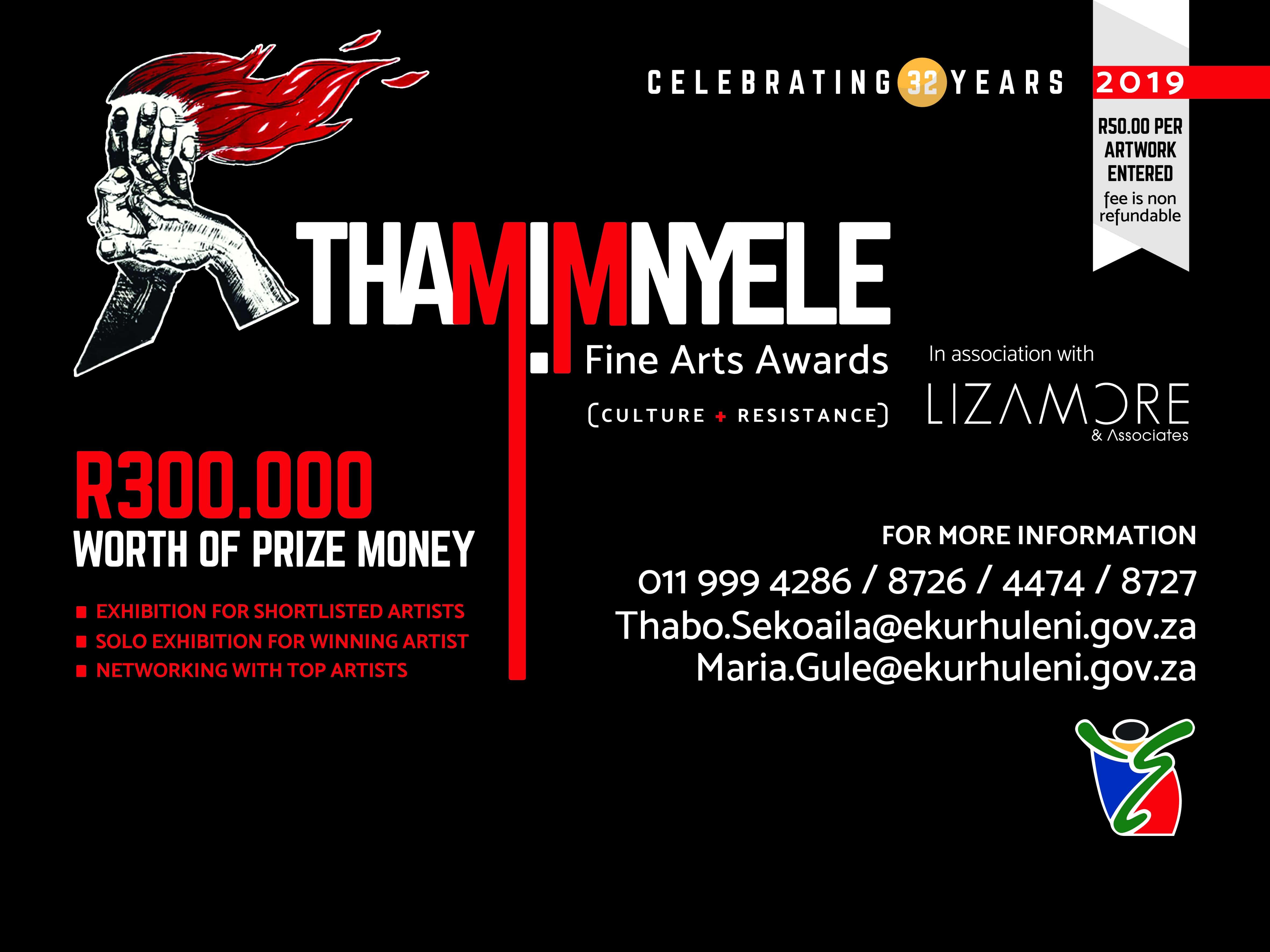 2019 THAMI MNYELE FINE ARTS AWARDS - VANSA