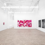 Installation view, blank projects