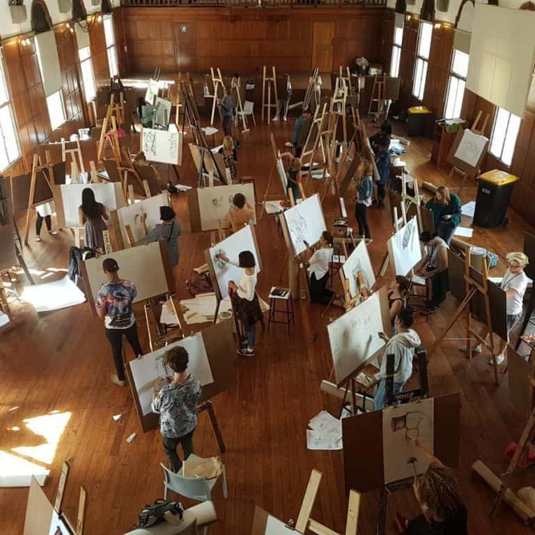 Teaching-Michaelis-School-of-Fine-Art-students-the-HVOD-method-2017